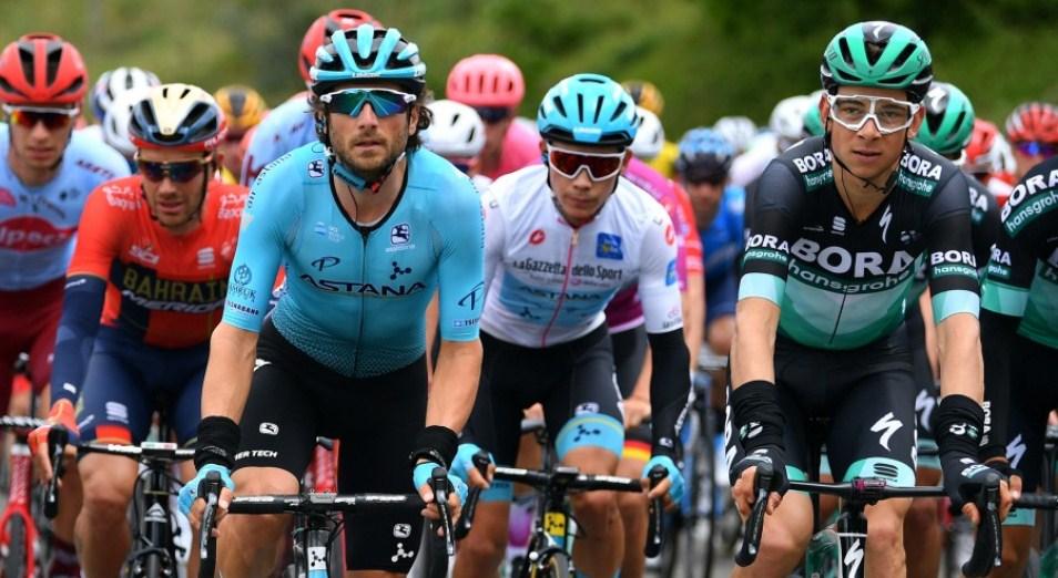 «Джиро д'Италия»: Лопес продолжает погоню за первой тройкой