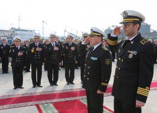 Отряд кораблей ВМС Ирана зашел в порт Актау