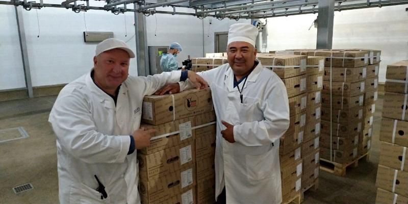 Первая партия замороженной говядины экспортирована из Актюбинской области в КНР