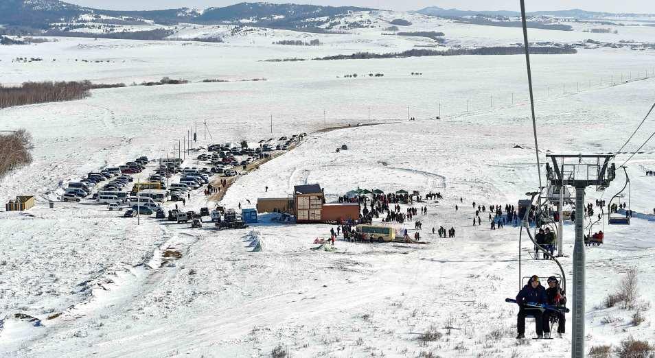 Казахстанская глубинка зарабатывает на новогодних праздниках