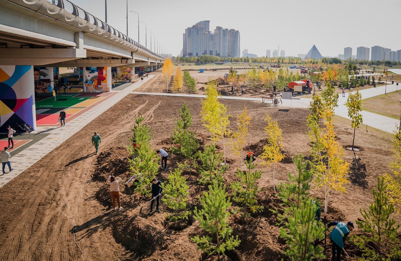 Во всех районах столицы прошла экологическая акция World Cleanup Day