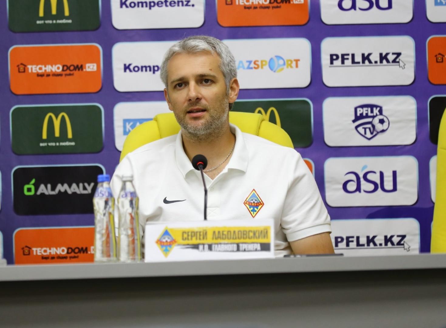 Футбольный клуб «Кайрат» покинул ещё один тренер