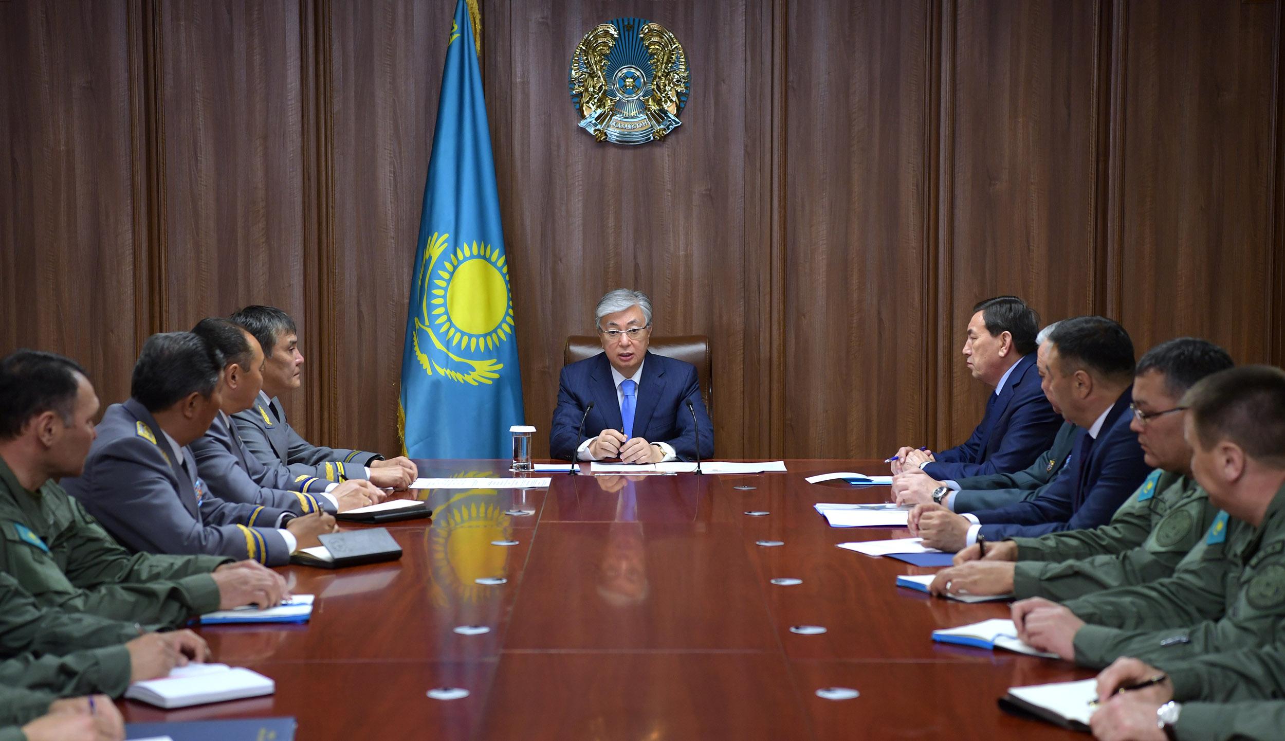 Офицеры Службы государственной охраны должны сочетать в себе качества военного и дипломата – Касым-Жомарт Токаев