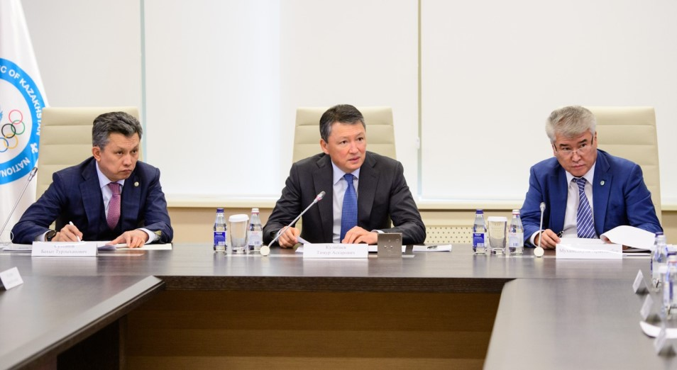 В Нур-Султане обсудили подготовку к чемпионату мира по видам борьбы