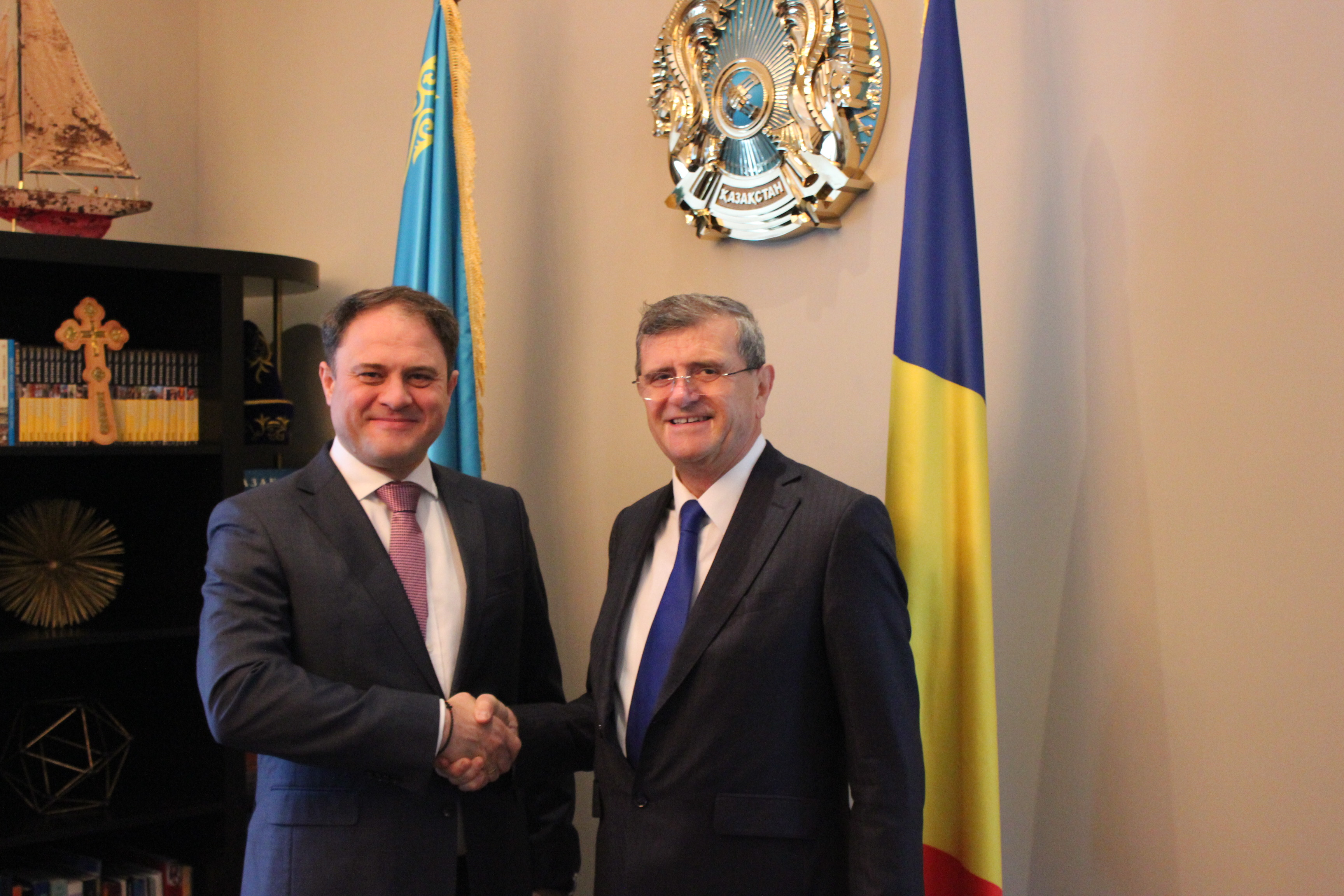 Казахстан и Румыния усилят сотрудничество в IT-сфере и агроиндустрии