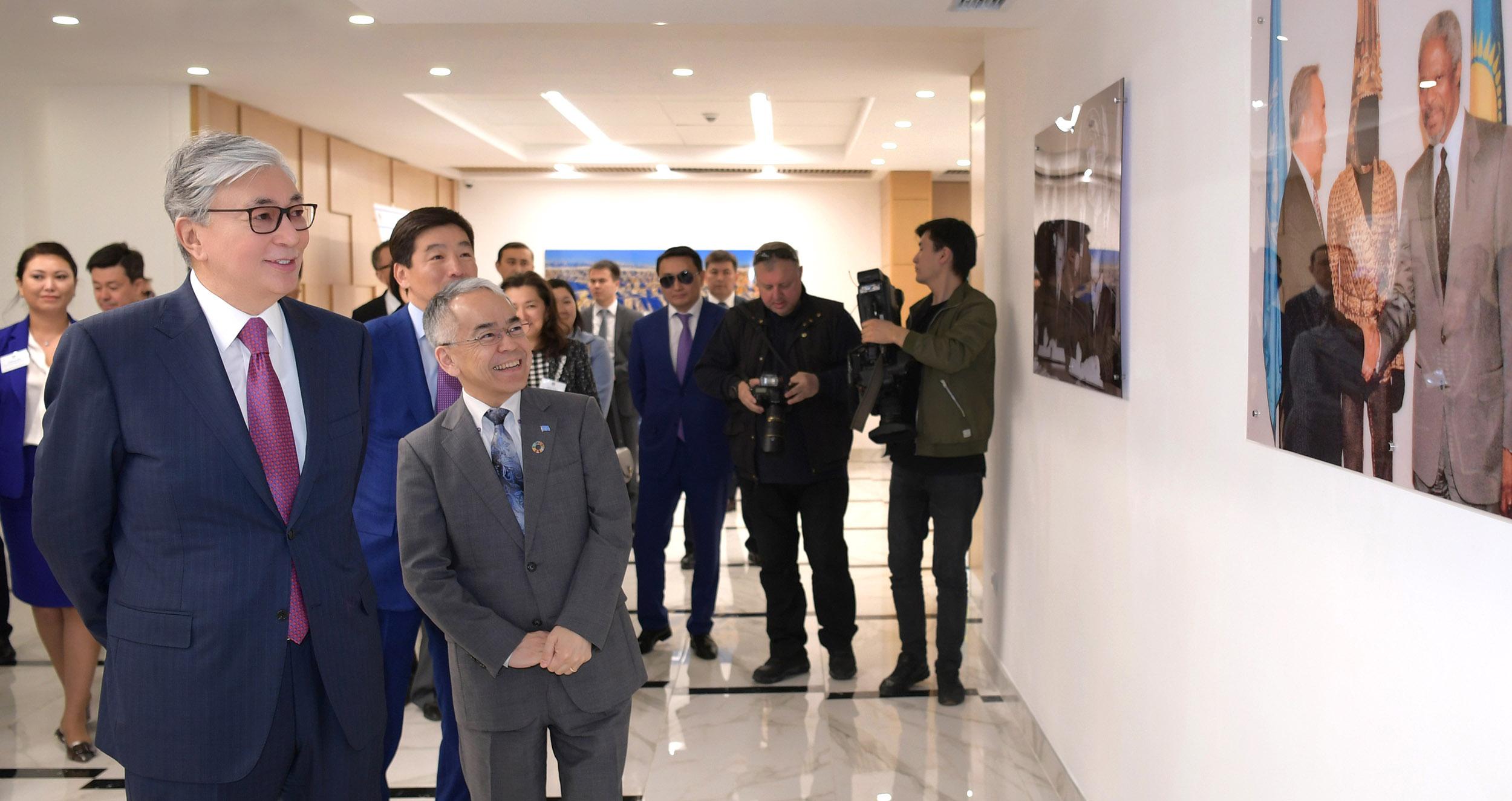 Казахстан полностью привержен принципам ООН – Касым-Жомарт Токаев