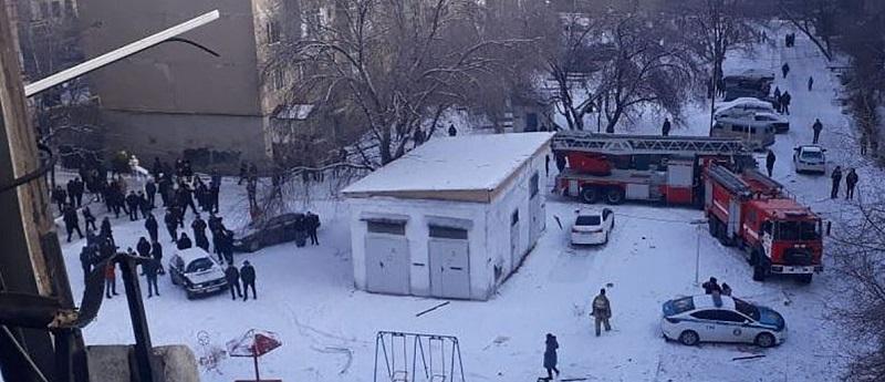 Расследование взрыва газа в Каскелене ведется по статье УК о нарушении пожарной безопасности