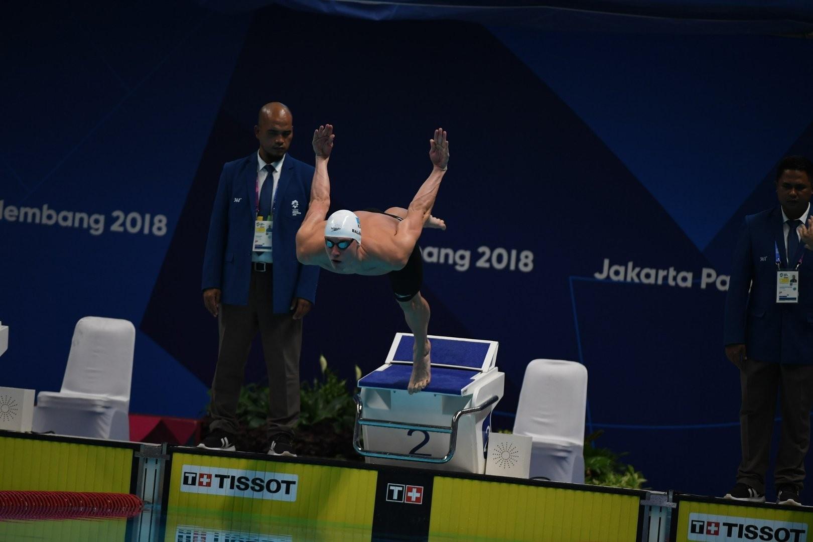 Дмитрий Баландин завоевал бронзу на втором этапе Champions Swim Series