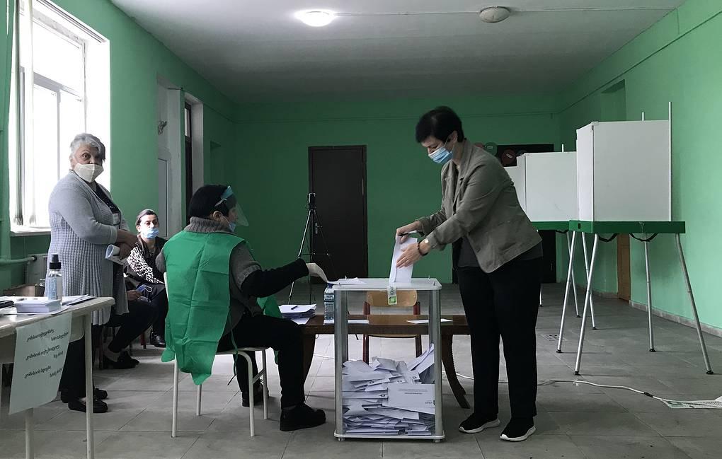Правящая партия Грузии победила во всех 17 округах во втором туре выборов