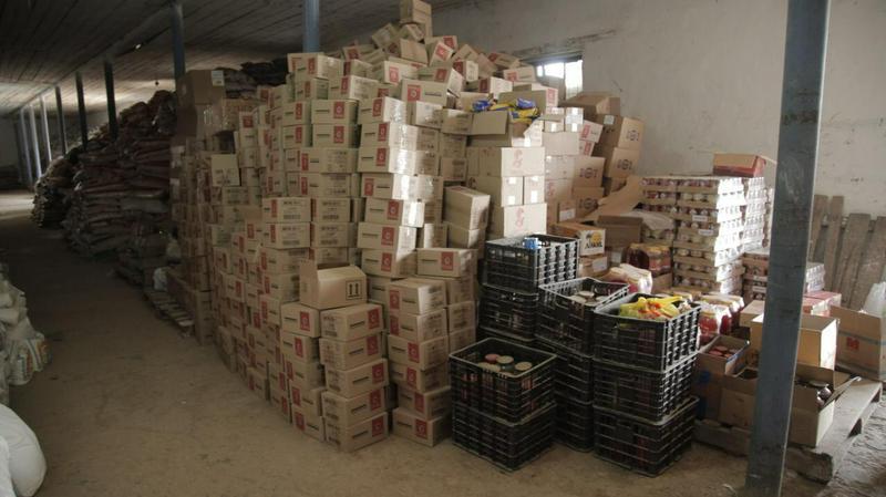 Жителям подтопленных сел Мактаарала поступили 408 тонн гуманитарной помощи