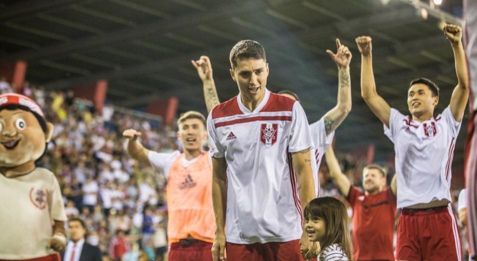 «Актобе» объявил о продлении контракта с казахстанскими игроками