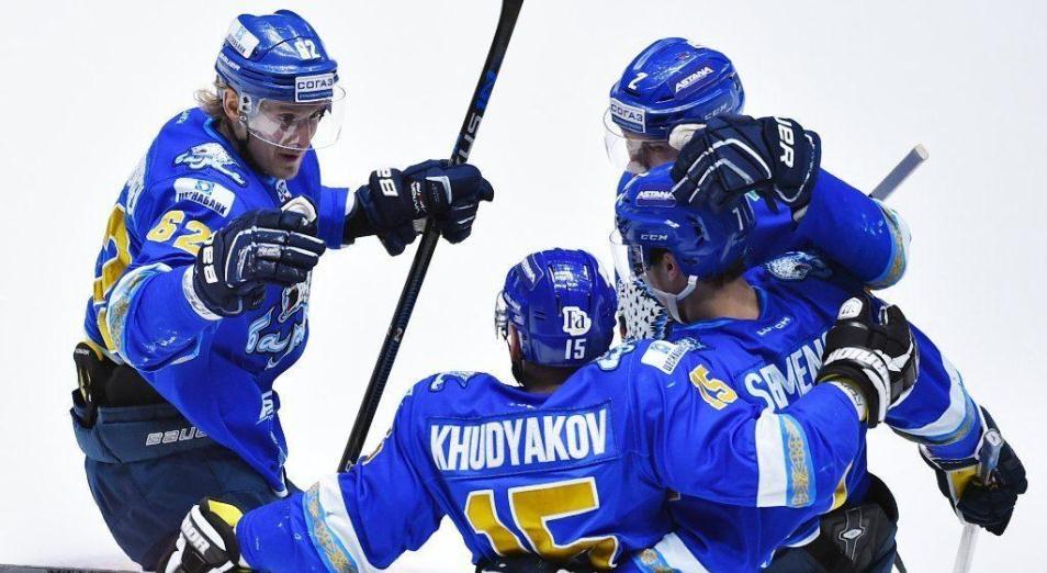 Регулярка КХЛ: «Барыс» обосновался в середине на «Востоке»