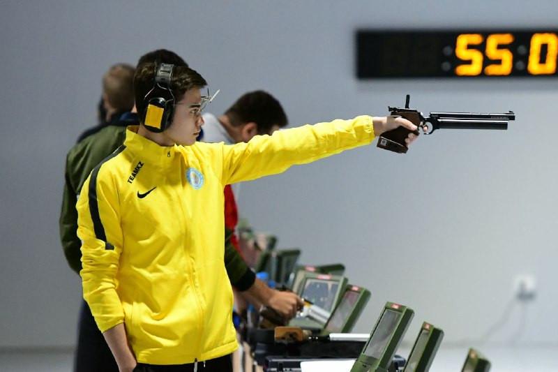 Эльдар Иманкулов завоевал бронзу на международном турнире по стендовой стрельбе