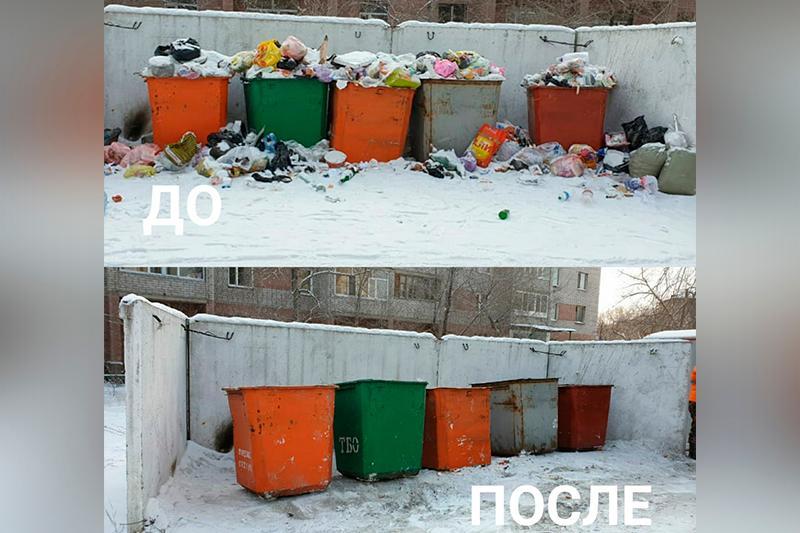 В Семее за один день было вывезено свыше 150 тонн мусора