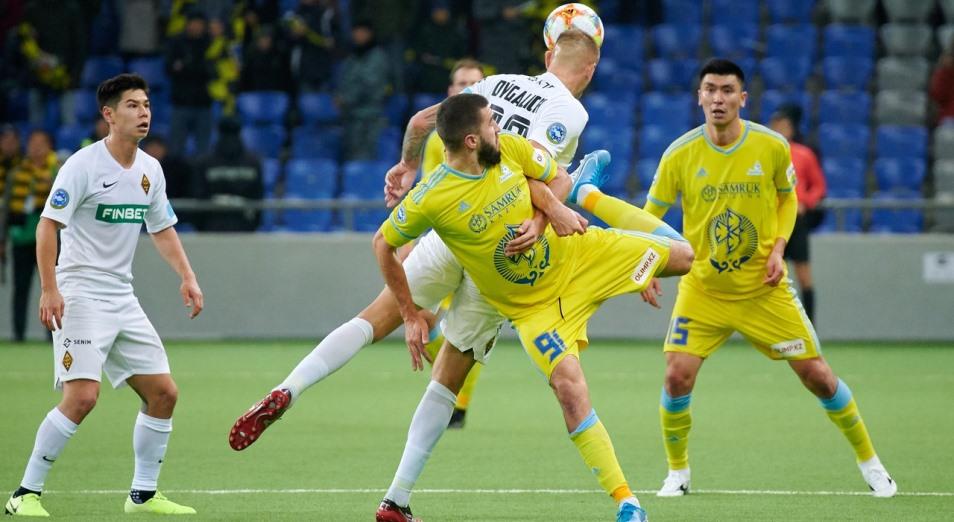 КПЛ: «Астана» снова стала теневым лидером