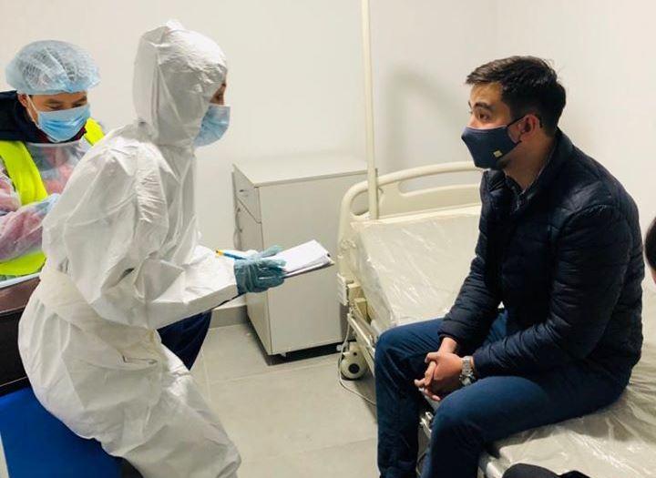 Минздрав РК ввел усиленный контроль на всех участках границы с КНР в связи с коронавирусом