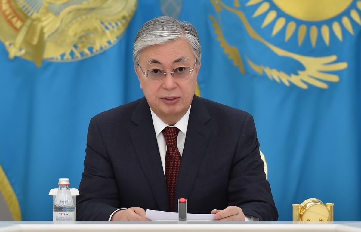 Касым-Жомарт Токаев пожелал заболевшему коронавирусом Михаилу Мишустину скорейшего выздоровления