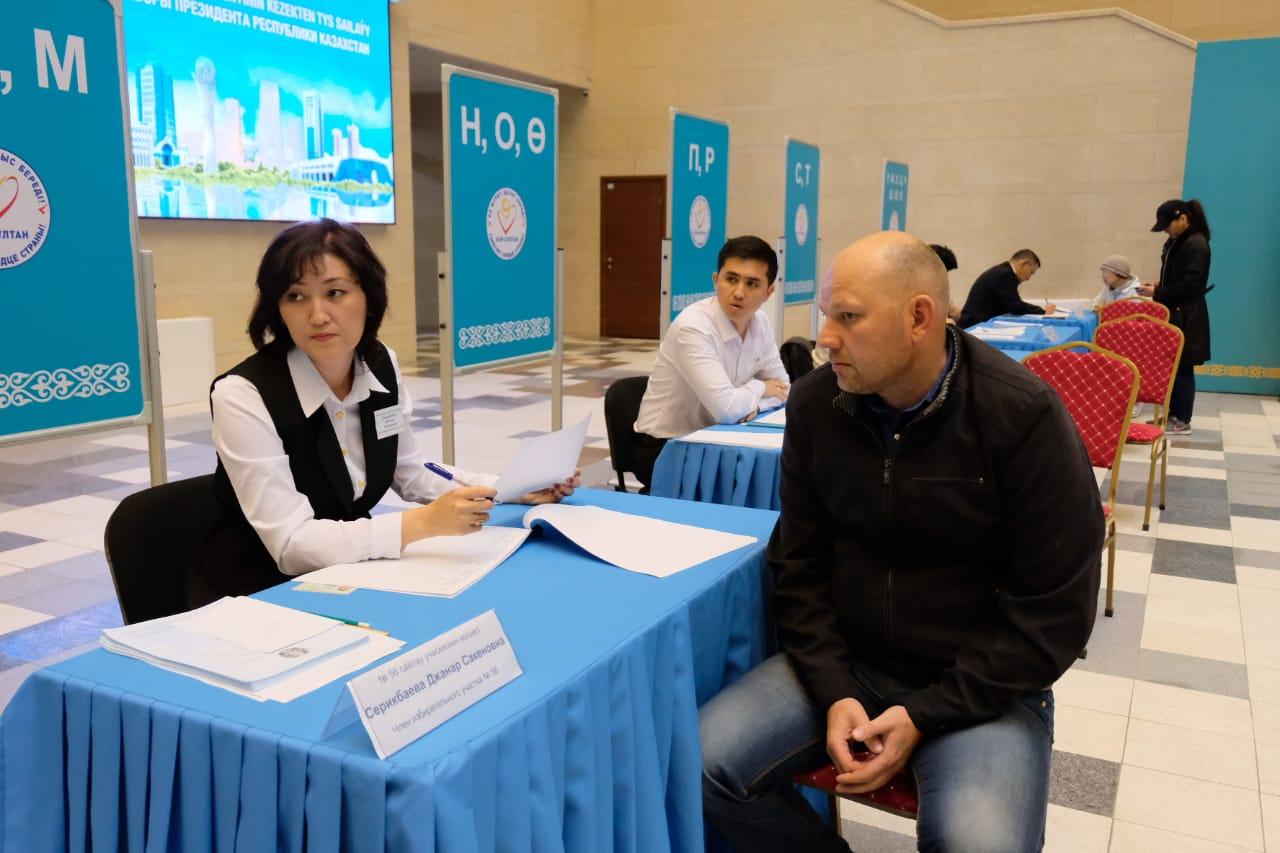 Явка избирателей на выборах Президента Казахстана составила 72,9%