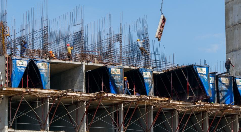 Больше всего жилья строится в Алматы