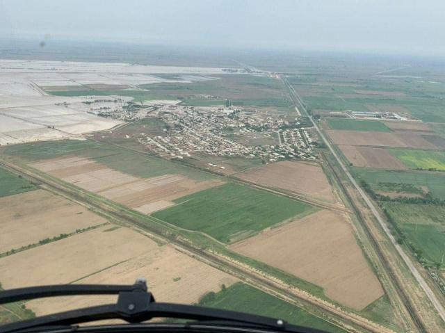 В Казахстане из-за прорыва дамбы в Узбекистане пострадало 3,6 тысячи га посевных площадей