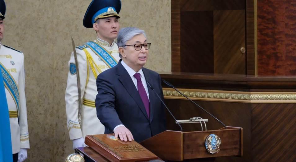 Касым-Жомарт Токаев принял присягу президента Казахстана