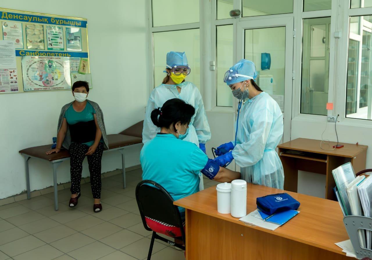 Свыше 80% заболевших коронавирусом выздоровели в Жамбылской области