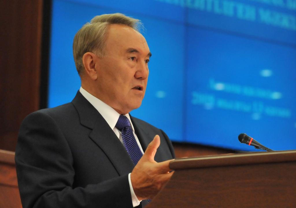 Назарбаев выступит с ежегодным посланием народу Казахстана