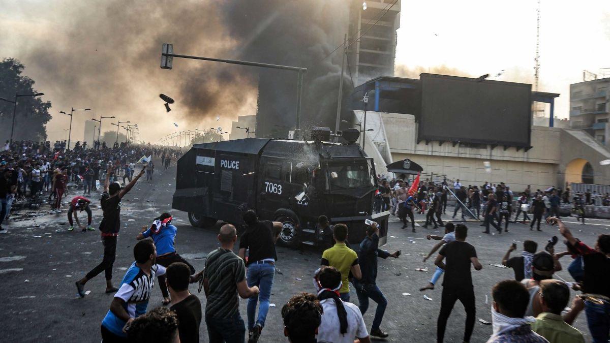 В Багдаде в ходе протестов погибли более 10 человек