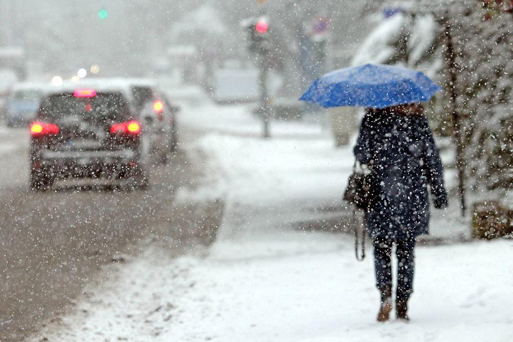 Казахстан накроет снегопад