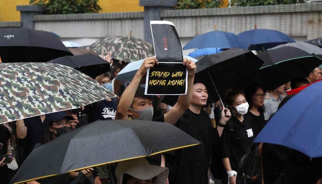 Протесты в Гонконге: демонстранты проводят очередную акцию