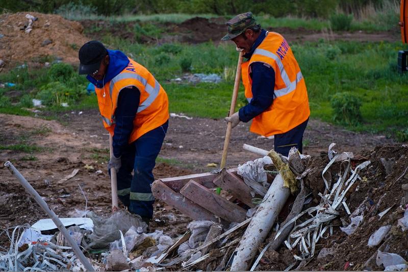 В Нур-Султане планируют построить полигон для строительных отходов