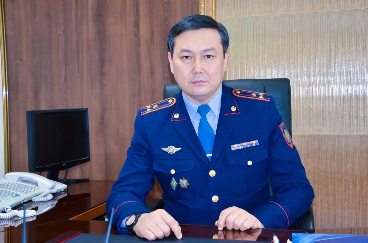 Назначен замначальника ДП Карагандинской области по оперативной работе