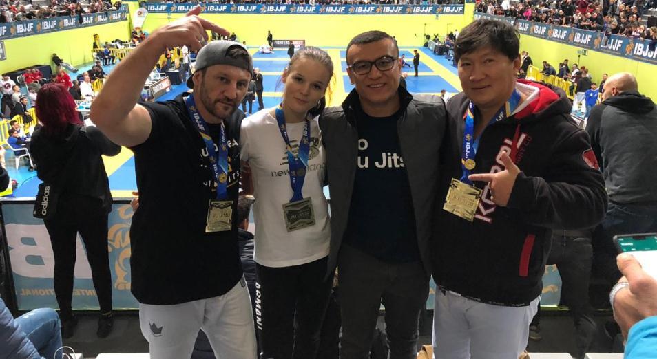 Казахстанцы взяли медали престижнейшего турнира по бразильскому джиу-джитсу