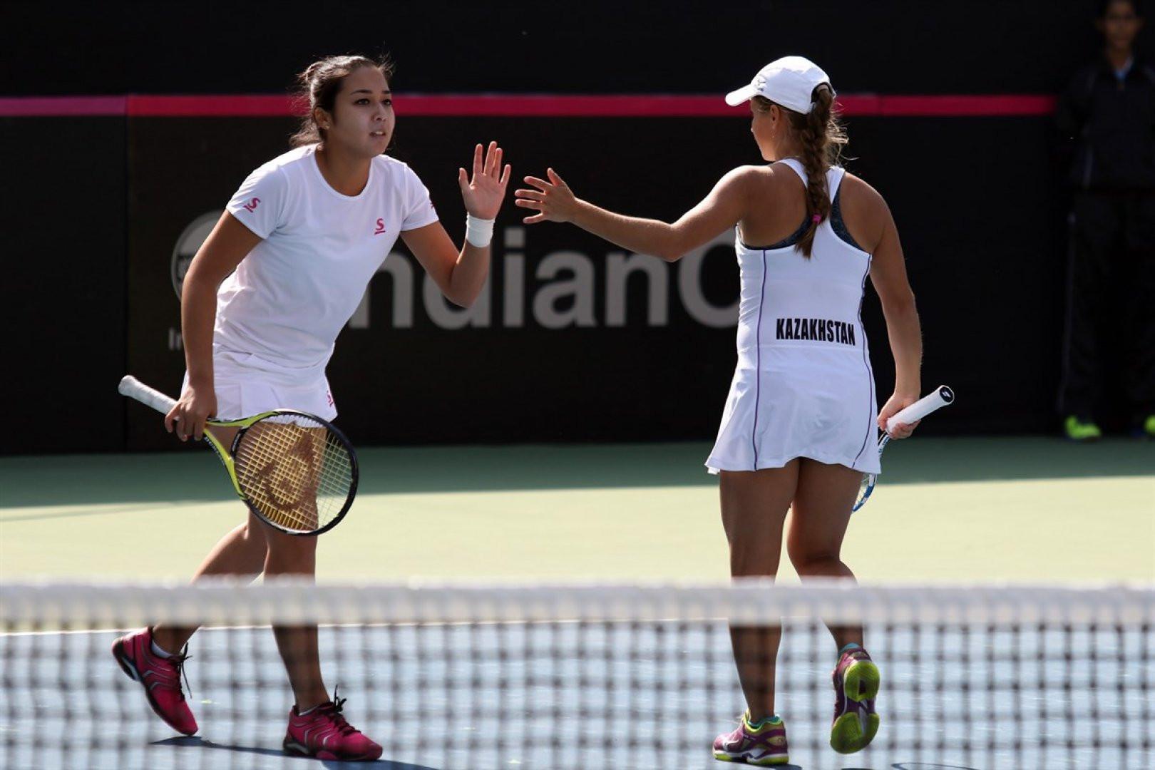 Казахстанские теннисистки прошли в следующий круг престижного турнира