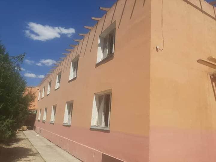 В Шорнаке строят общежитие на 300 мест