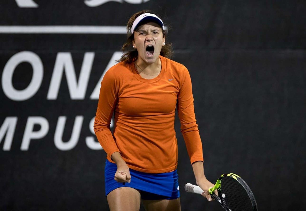 Анна Данилина вышла в финал теннисного турнира в США