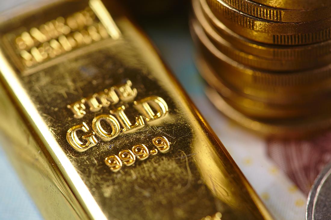 Золото может пойти до отметки $2100 за тройскую унцию