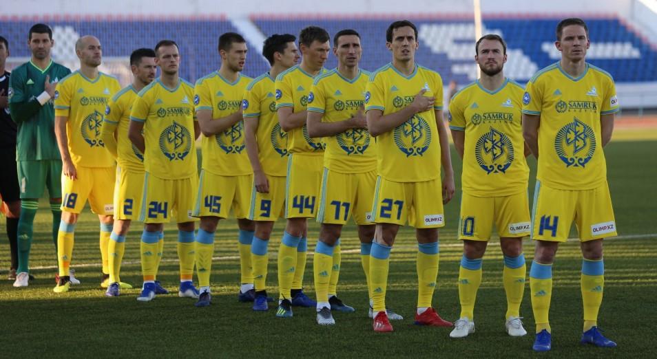 «Астана» засушила «Тобол» в КПЛ