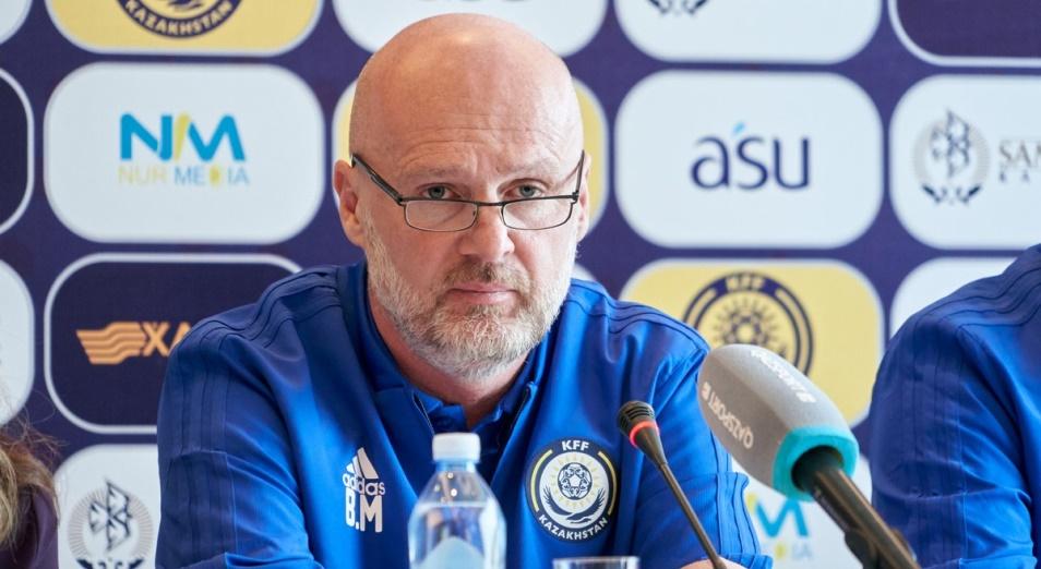 Билек: «Состав сборной Казахстана на матч с Бельгией объявим перед игрой»