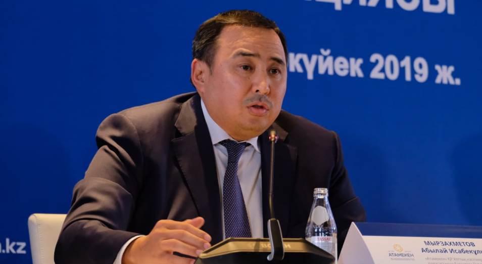 Аблай Мырзахметов впервые вышел в прямой эфир