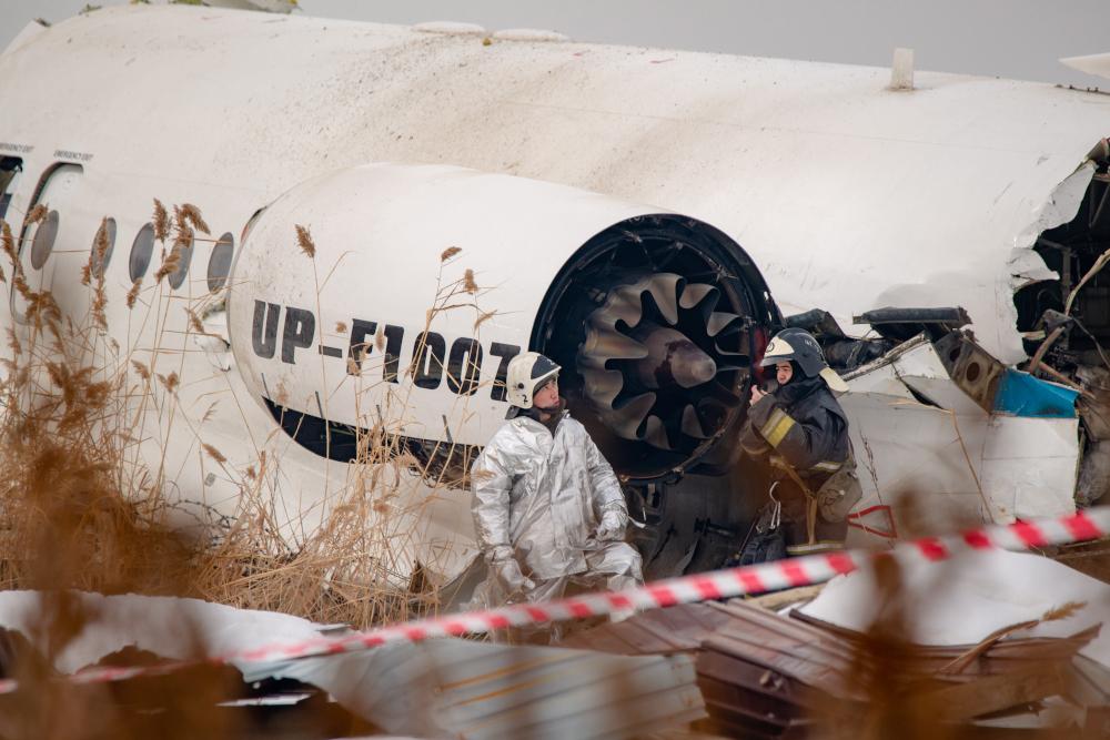 Аэропорт Алматы опубликовал поминутную хронологию авиакатастрофы