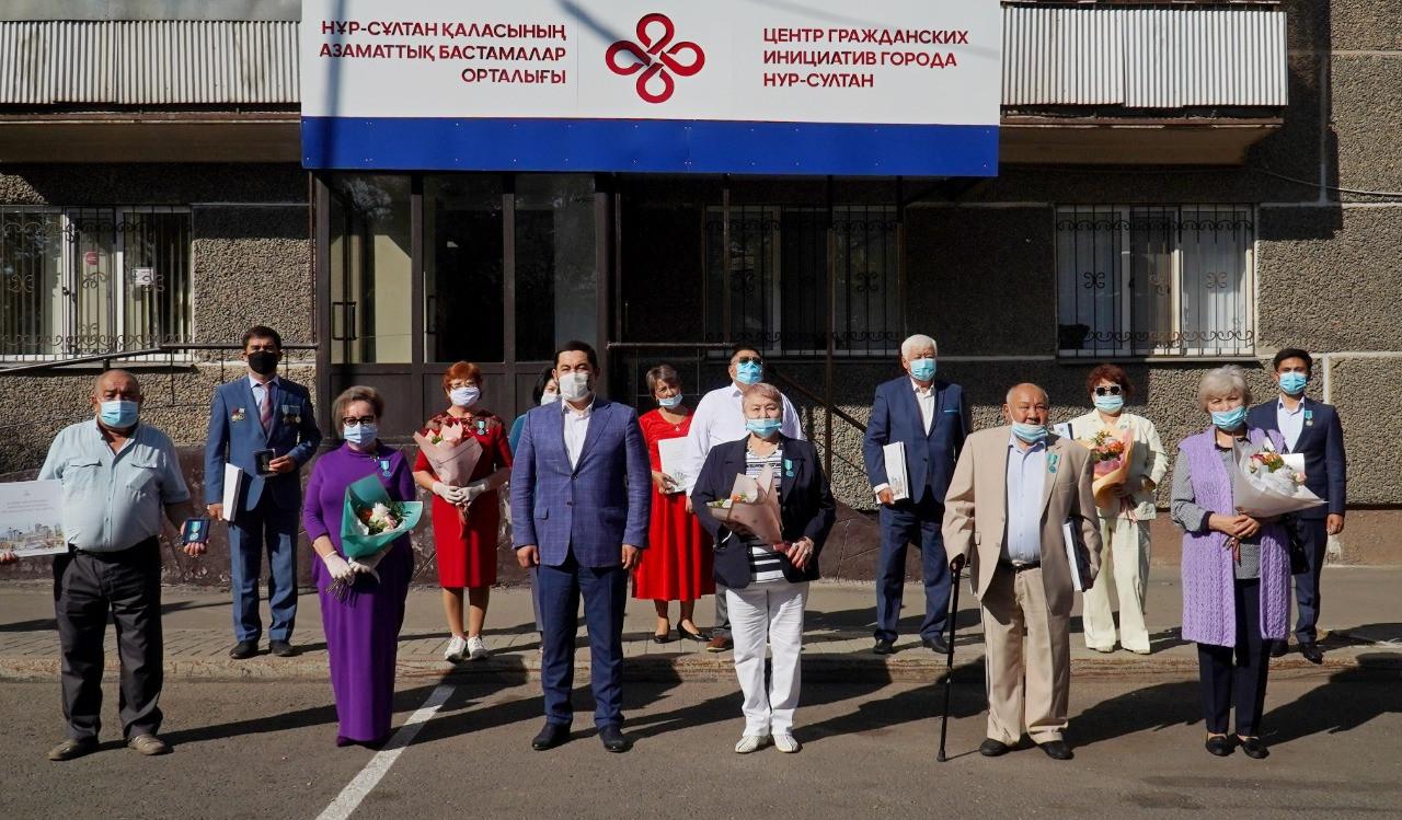 Представителей НПО наградили медалью «Қазақстан Конституциясына – 25 жыл»