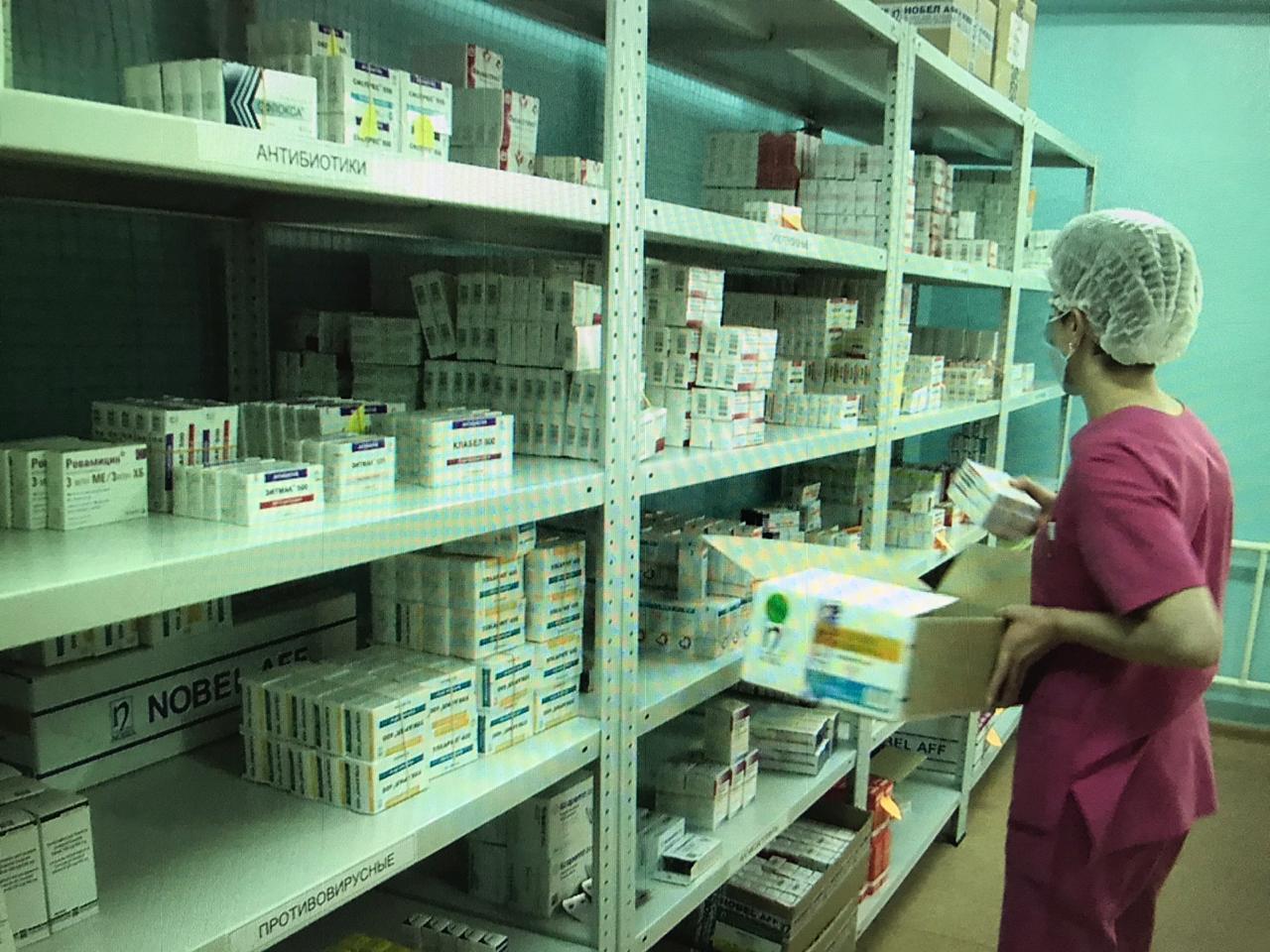 В Алматы для ковидных стационаров создан резервный фонд медикаментов