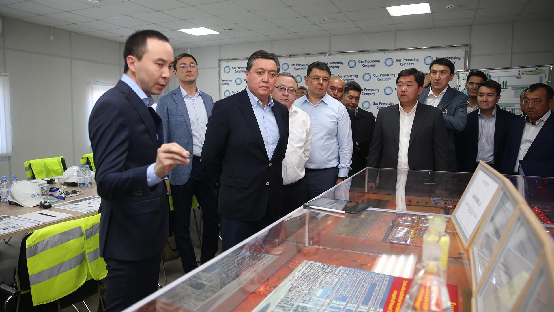 Аскар Мамин с рабочей поездкой посетил Актюбинскую область