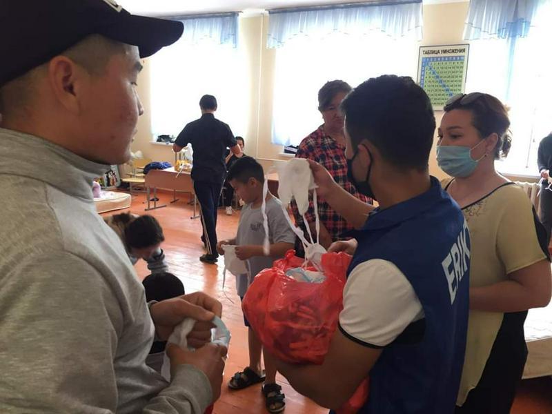 За ночь из адмцентра Мактааральского района эвакуировали около 12 тысяч человек