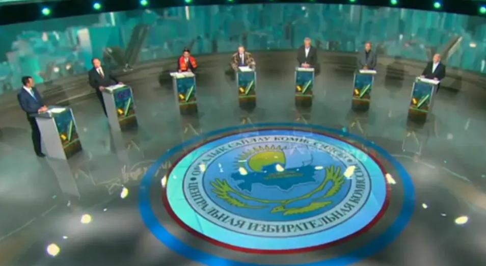 В Нур-Султане прошли предвыборные дебаты и дискуссии кандидатов в Президенты РК