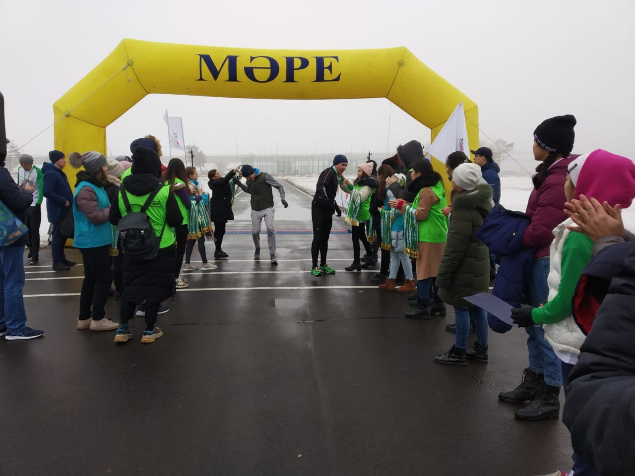 В столице прошел благотворительный Astana Nauryz marathon