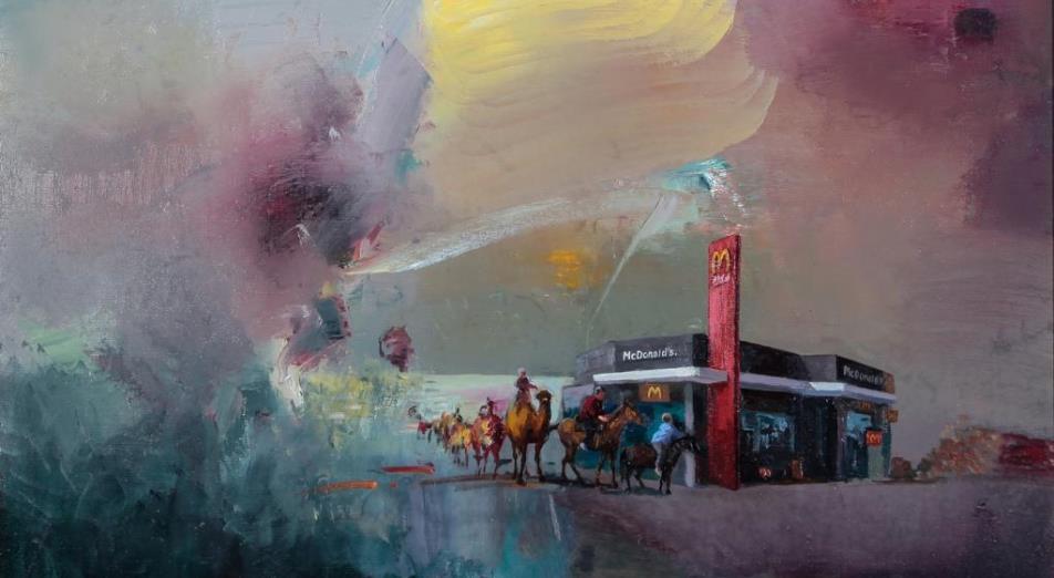 В Алматы прошла выставка изобразительного искусства «Культ потребления»