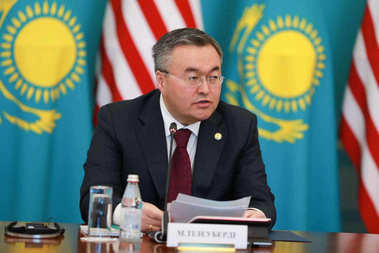 Сотрудничество Казахстана и США носит статус расширенного стратегического партнерства – глава МИД РК