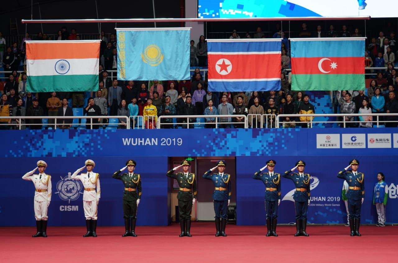 Казахстанские военные завоевали золото по боксу на Всемирных военных играх